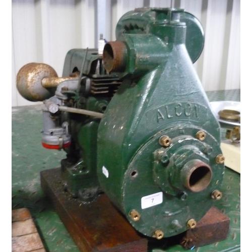 7 - Vintage Jap-Villiers water pump (Alcon)...