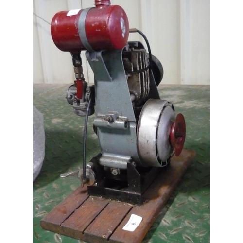 8 - Small vintage stationary engine...