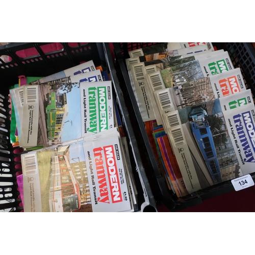 28 - Quantity of Ian Allen Modern Tramways booklets etc...