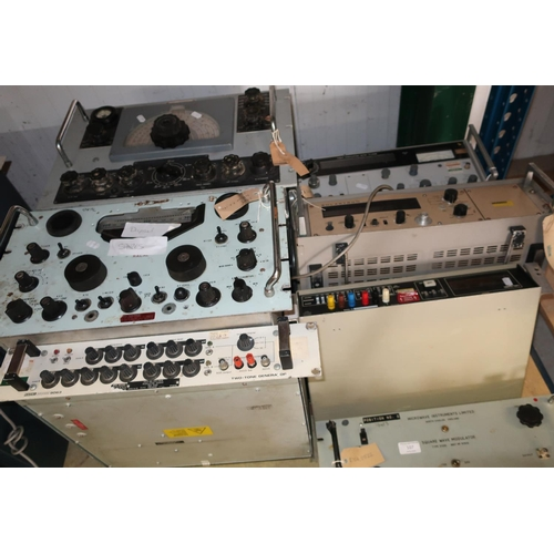 107 - Microwave Instruments Limited Square Wave Modulator Type 3300, a multi function meter, modulator met...