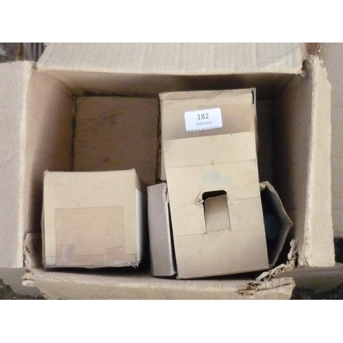 182 - Box containing water pumps and filters etc...