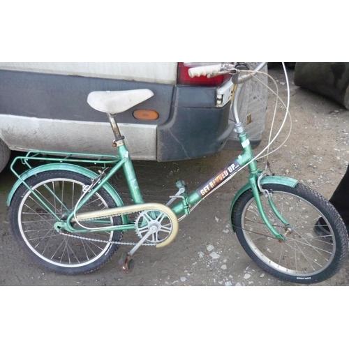 205 - Ladies folding bike...