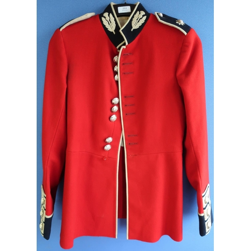253 - Scots Guards 1959 pattern tunic with stay bright buttons...
