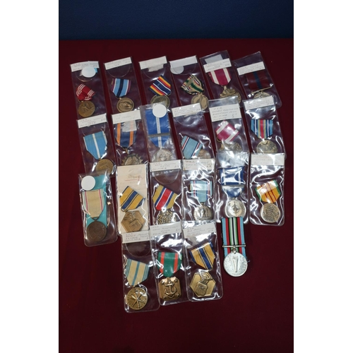 315 - Collection of 22 various USA medals including Nato Non Article 5 medal, various campaign medals incl...