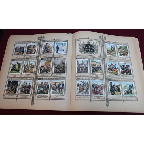 298 - Das Reichsheer und seine tradition album of three hundred and twenty eight German military collector...