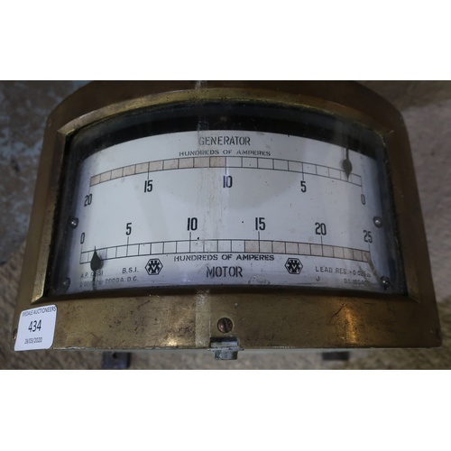 434 - Naval style generator motor...