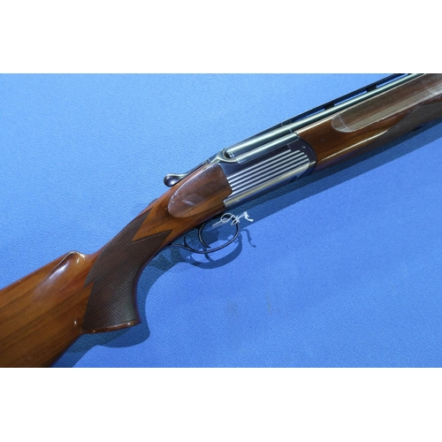 680 - Boxed Perazzi MT6 12 bore over & under ejector shotgun with 27 3/4 inch barrels with top vents and c...