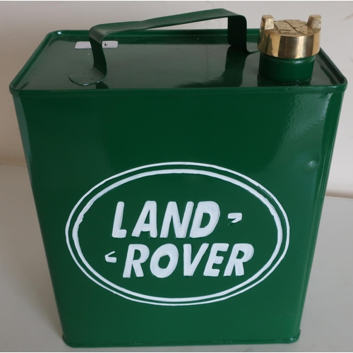 135 - Reproduction Land Rover petrol can...