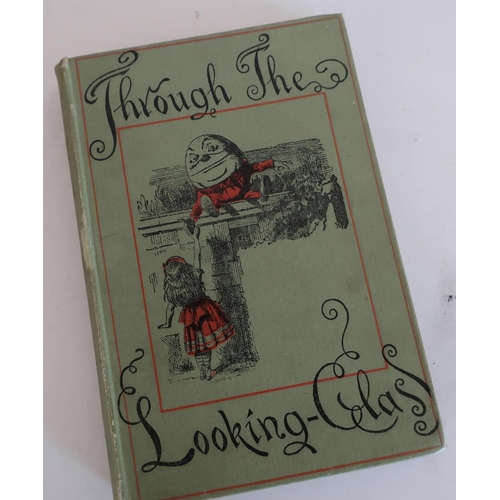 25 - The People's Edition of Through the Looking Glass and What Alice Found There by Lewis Carroll, publi...