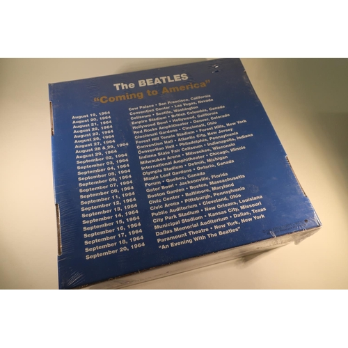 137 - The Beatles - Rare still sealed and unopened 30th anniversary limited edition The Beatles -Coming to...