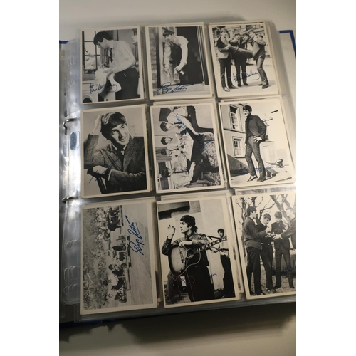 138 - Album containing approx. four hundred and forty various The Beatles bubblegum cards...