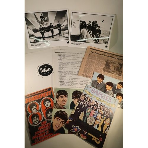 144 - 1994 The Beatles It Was Thirty Years Ago Today press kit (missing record and one picture but include...