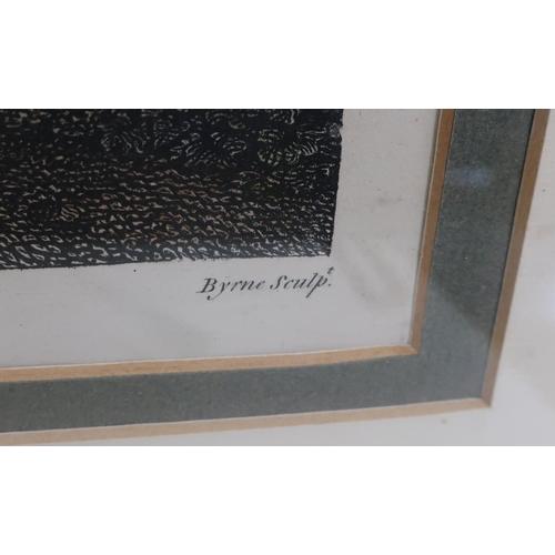 33 - Gynnasiun at Epheros, coloured mezzotint, after Byrne (38cmx 47cm)...