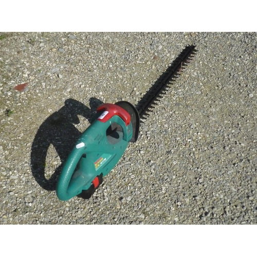 42 - Rechargeable Bosch hedge trimmer...