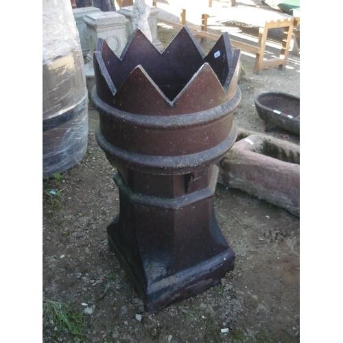94 - Quality chimney pot (queen)...