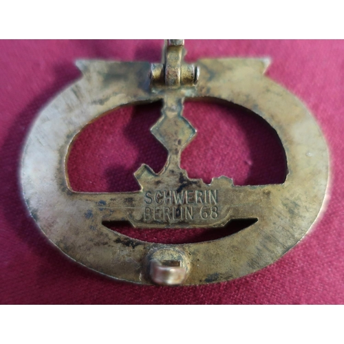 5 - Selection of German military and other badges including an enamel British Union of Fascist, a triang...