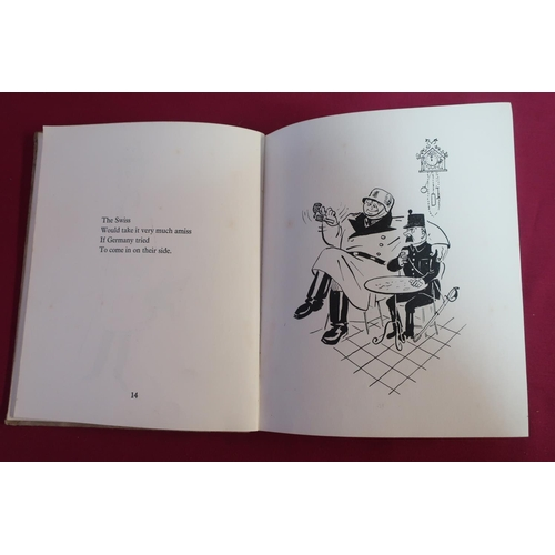 9 - Millar & Goetz Who's Who In The Wars (WWII), a comical book with illustrations...