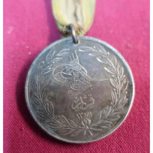 46 - Turkish Crimea medal Sardinia version (unnamed)...