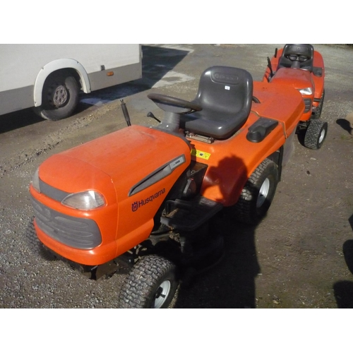 104 - Husqvarna CTH171 ride on mower...