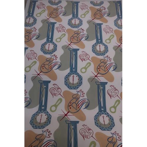 109 - Ronald McNeill, two 1950's wall paper designs,  watercolour (100cm x 63cm, max) (2)...