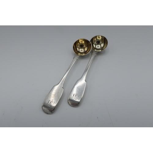 4 - Geo. III Scottish hallmarked silver Old English pattern desert spoon, Edinburgh 1817, maker M&A anot...