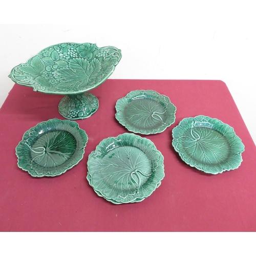 9 - 20th C hobnail cut glass rectangular table box, with gilt metal mounts (11.5cm x 8cm x 8cm), pair of...
