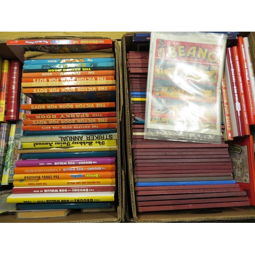 42 - Collection of children's books and annuals including Biggles, Cuise of the Condor, various Dandy, Vi...
