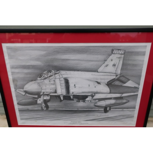 138 - Framed and mounted print