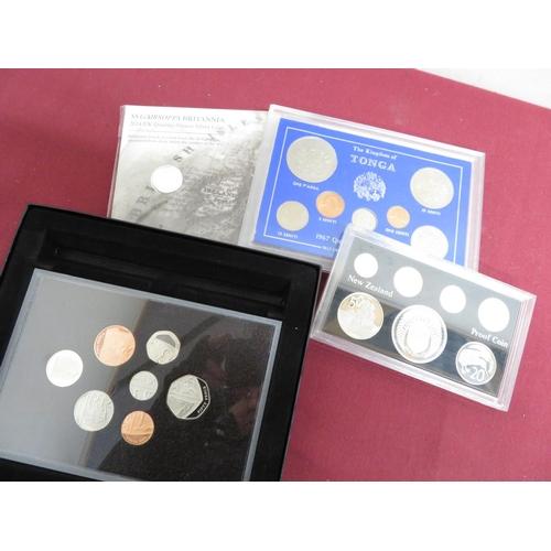 22 - Royal Mint 2014 SS Gairsoppa Britannia Quarter-Ounce silver coin, 2008 UK coinage Royal Shield of Ar...