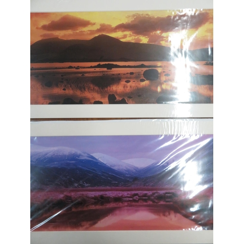103 - Ken Hammond landscape print, mounted, and five landscape photographs, mounted (6)...