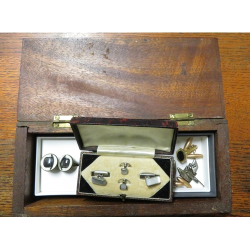 35 - Pair of hallmarked silver lozenge shaped Victoria 1837-97 Jubilee cufflinks decorated with monarchs ...
