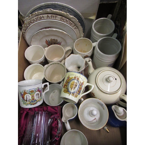 103 - Collection of 1911 and later Coronation and other commemorative mugs, a Scarborough 1796-1996 bicent...