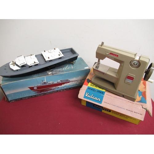 116 - Victory Industries electric model of a Vosper RAF Crash Tender L42cm in original box and a Vulcan Co...