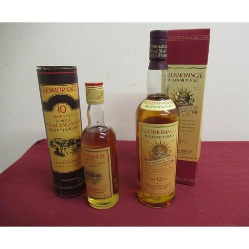 138 - Glenmorangie Millenium Single Highland Malt Whisky, Aged 12 years, 70cl 40%vol & Glenmorangie Single...