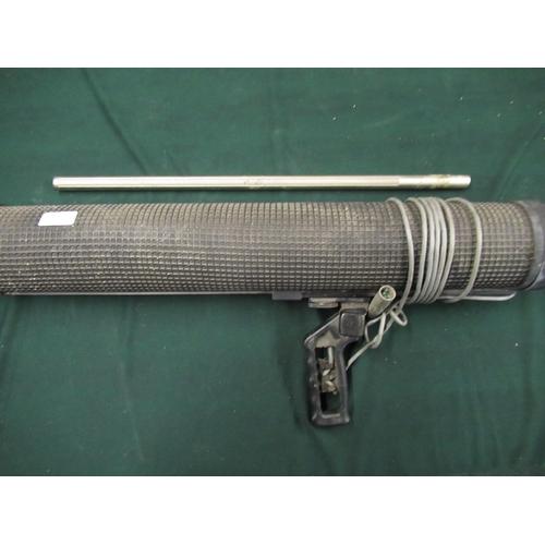 105 - Sennheiser MKH816T Shotgun microphone (nickel finish) with 76cm blimp windshield and shock mount (A/...