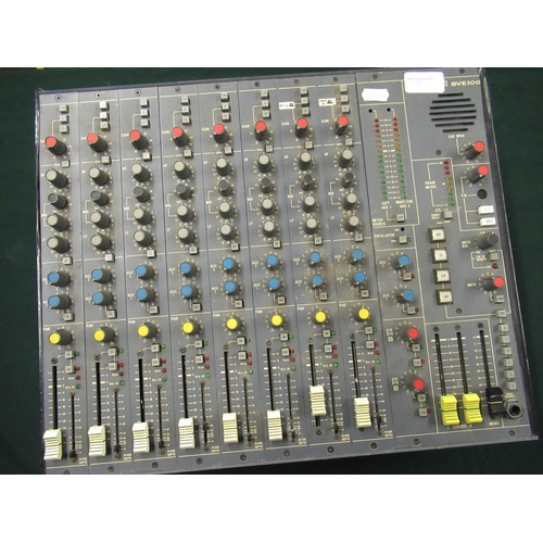 107 - Soundcraft BVE100 eight channel broadcast console with power supply...