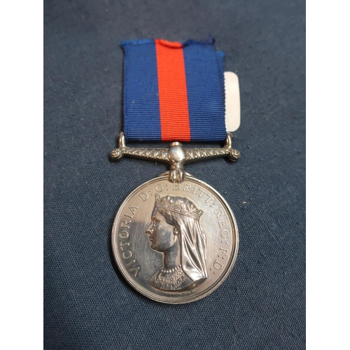 205 - Victorian New Zealand Campaign Medal awarded to 1050PTE.J.McCarthy 2nd BN 18th Foot (named to the ou...