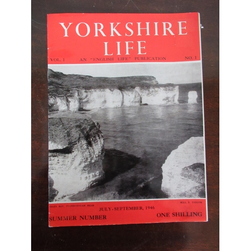 111 - Yorkshire Life vol. one number 1, july-sept and 2 cot-dec 1946 Daily Telegraph Royal Tour picture su...