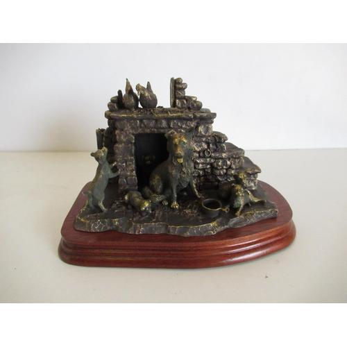 407 - Border Fine Arts bronze figurine