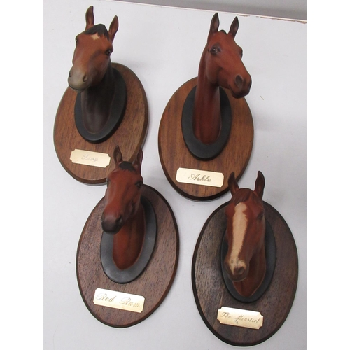 405 - Collection of Beswick Racehorse horse heads