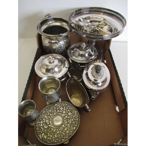 475 - Silver plated part tea service