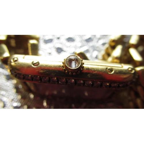 230 - Claire Sweeney Collection - Ladies Cartier Tank 18K and diamond quartz wristwatch, rectangular case,...