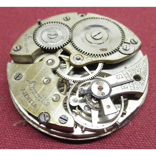 50 - Capitan 18 jewel wristwatch on mesh bracelet, Silvana wristwatch on mesh bracelet, rolled gold Hunte...