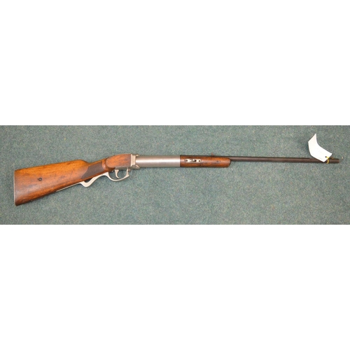 210 - .25 Bugles Panner smooth bore under lever air rifle