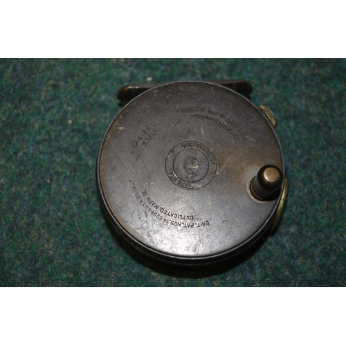 174 - Two Hardy trout fly fishing reels, Uniqua vintage fly reel and Mark Two with original ebonite handle...