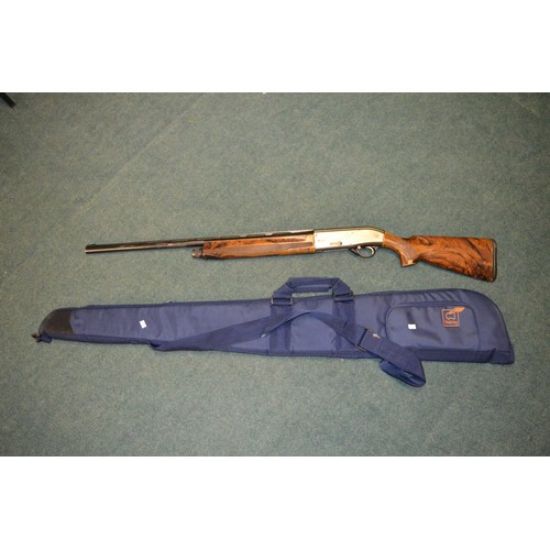 357 - Beretta AL391-TEKNYS 12G semi automatic shotgun with resin butt and forstock, with 27