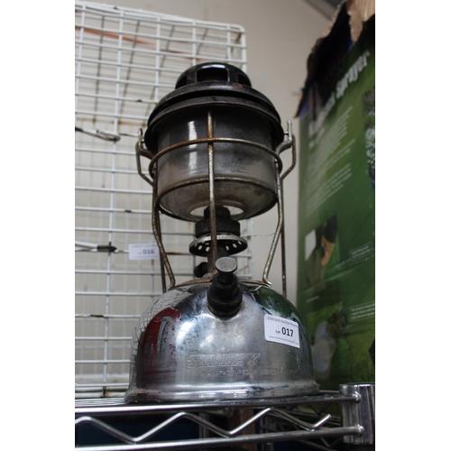 17 - CHROME TILLY LAMP