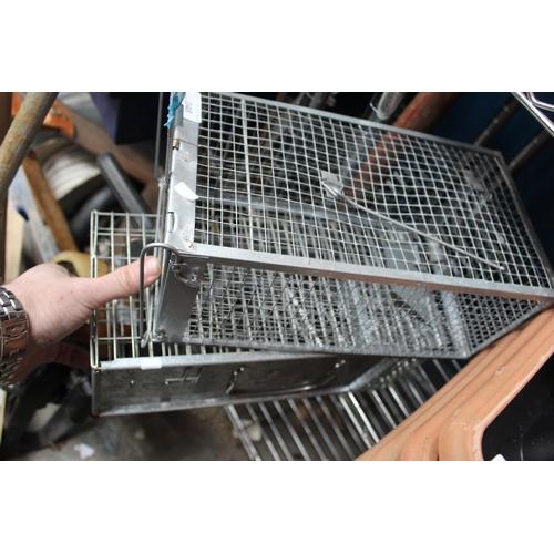 48 - PAIR OF RAT TRAP CAGES