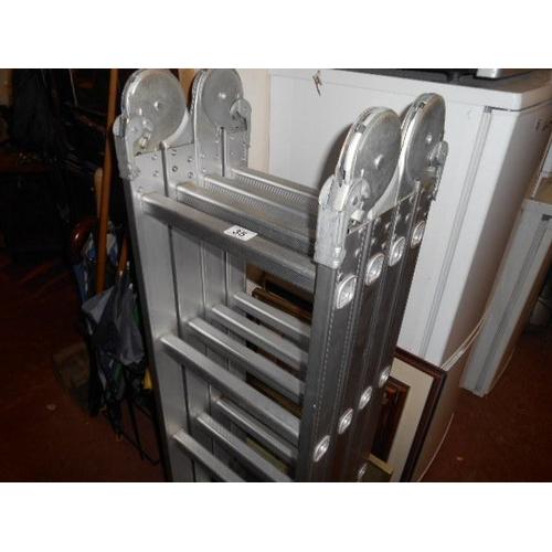 35 - Multi-purpose folding ladders...