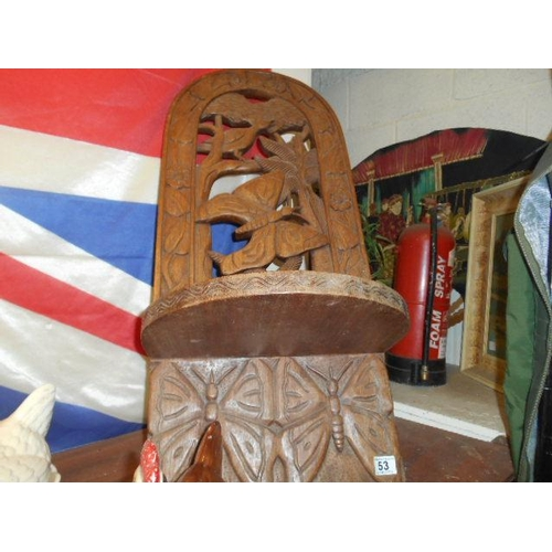 53 - African birthing chair...